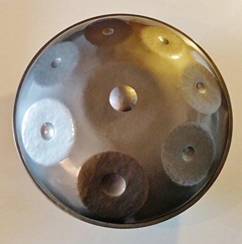 Steel-Pan Viet-Pan (Hand Pan) Percussion Mélodique in Dm