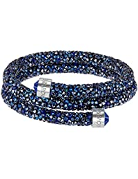 Swarovski Crystaldust Double Bangle, Blue