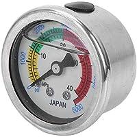 MAGT Medidor de Bomba, 0-6000PSI 0-40MPa Medidor de presión de la Bomba de Aire Manómetro Equipo de Buceo Medición del manómetro