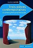"""Afficher """"Trois pièces contemporaines"""""""