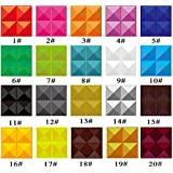 Yazi 4pcs Tienda De La 3d de revestimiento de pared azulejos papel pintado Interior paneles decorativos de color 20Refurbished 300x 300mm