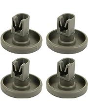 Xseafan 4/8pcs Dishwasher Roller Wheel Part Accessories Repairing Kit for AEG Favorit