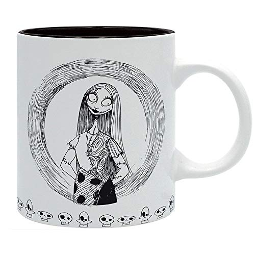 Sally Und Kostüm Jack - Nightmare before Christmas Disney Premium Keramik Tasse - Sally - Geschenkbox