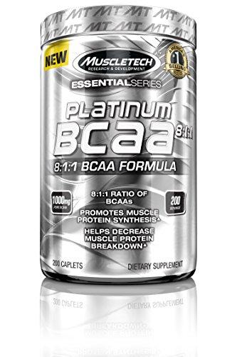 Platinum 100% BCAA 8:1:1 200 caps - 51qymgi8vpL