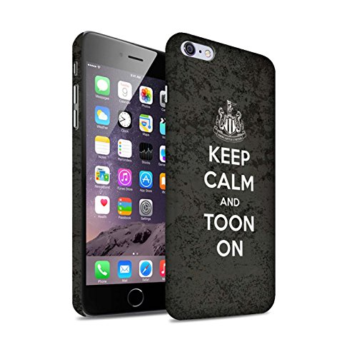 Offiziell Newcastle United FC Hülle / Matte Snap-On Case für Apple iPhone 6S+/Plus / Pack 7pcs Muster / NUFC Keep Calm Kollektion Toon On