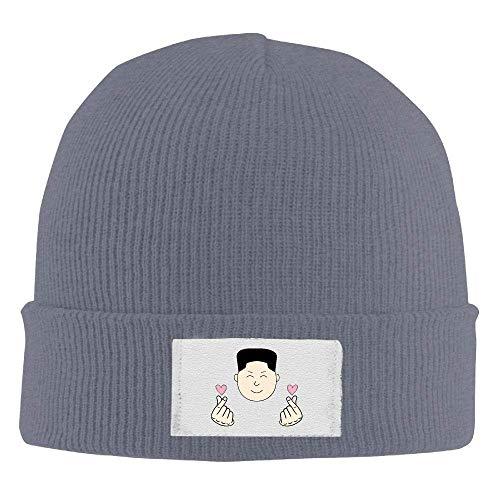VTXWL Mens Womens Knit Beanie Hats Korean Finger Heart Warm Winter Skull  Caps Fashion Unisex 76a29d120593