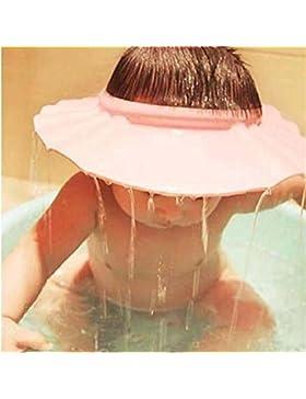 Chianrliu Einstellbar Shampoo Bade Bad SchüTzen Weiche Kappe Hut für Baby