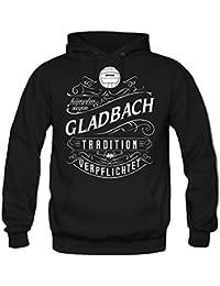 Mein leben Gladbach Kapuzenpullover | Freizeit | Hobby | Sport | Sprüche | Fussball | Stadt | Männer | Herren | Fan | M1 Front