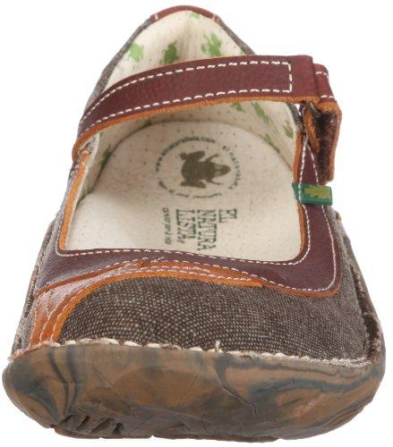 El Naturalista Nasca, Chaussures à Lacets Fille Marron - Braun/CUERO-BROWN-ORANGE