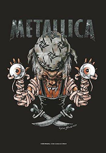 Metallica-Bandiera Poster Bandiera Pushead # 18