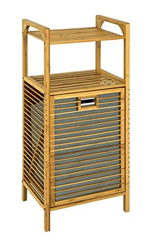 HAKU Furniture Bolsa para la Colada, Madera, Naturaleza, 30x 38x 89cm