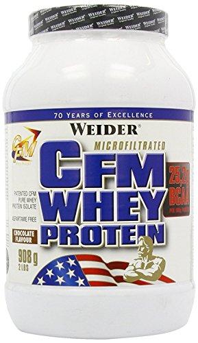 Weider CFM Whey Protein, Chocolate - 908 gr
