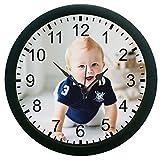 meSleep Crawl baby 3D Wall Clock (With G...
