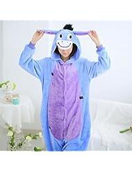 Pyjamas Adultes Pour Femmes Cosplay Costume Animal Épaississement de L'Épaississement de L'Hiver Tenue de Loisirs
