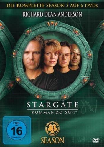 Stargate Kommando SG-1 - Season 03 [6 DVDs]