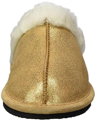 Giesswein Ladies Mering Slippers Oro (oro)