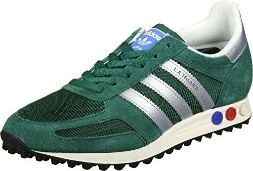 adidas La Trainer Og, chaussons d'intérieur homme vert argent