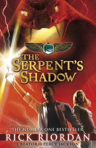 Book cover for The Serpent's Shadow