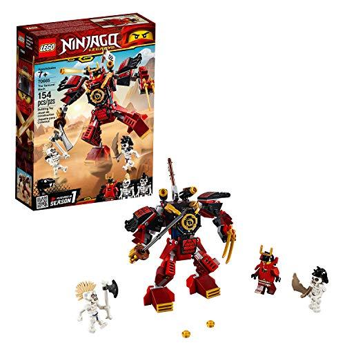 LEGO 70665 Ninjago Legacy Samurai Mech Building Kit, Colourful Best Price and Cheapest