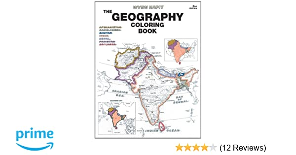 Geography Coloring Book: Amazon.co.uk: Wynn Kapit: 9780131014725: Books