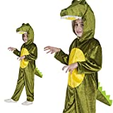 Monster Krokodil Kroko Drache Saurier Echse Dino Kinderkostüm Einteiler Krokodilkostüm