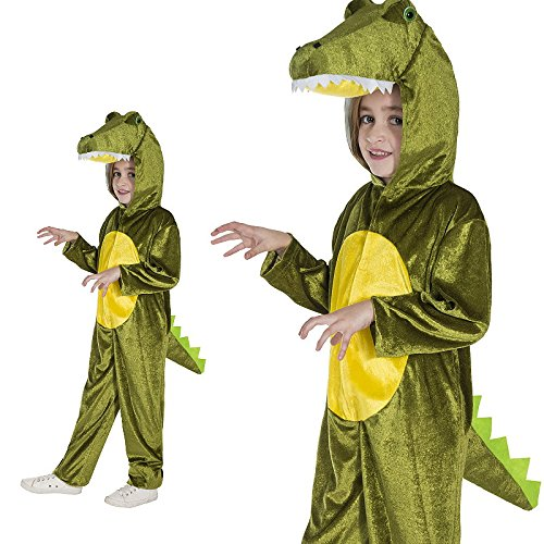 Monster Kostüm Jam - Monster Jam Krokodil Overall Kinder Kostüm Größe Teenager 13 bis 16 Jahre Karneval 50020