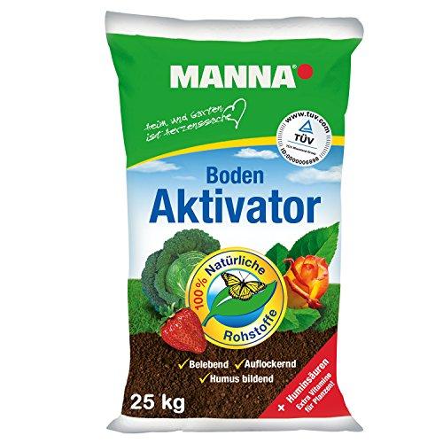 Organische Wurzel Düngen (MANNA Boden Aktivator 25 kg Bodenaktivator Naturdünger)