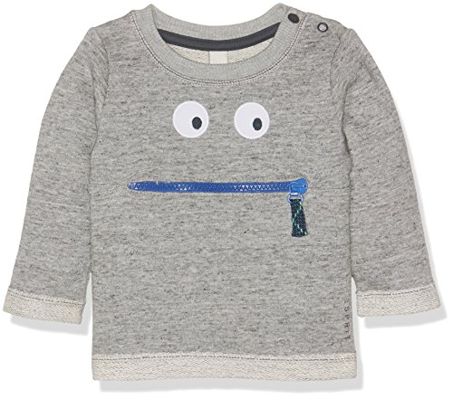 ESPRIT Baby-Jungen Sweatshirt RJ15032, Grau (Light Heather Grey 221), 86