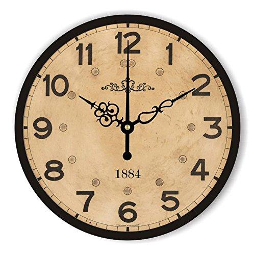 Orologio moderno della parete della decorazione della decorazione della parete silenziosa moderna del grande orologio da parete per la decorazione della parete del salone , 12
