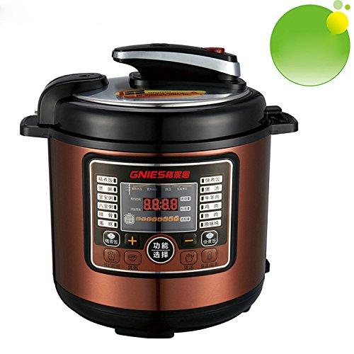 LIGUQI@ 5L Smart Dampfkochtopf Haushalts elektrische Schnellkochtopf Multifunktions-Reiskocher,lila,5L