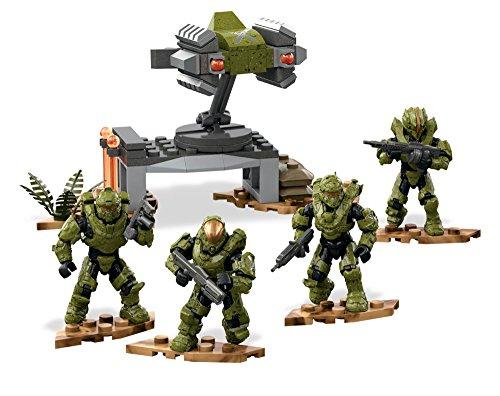 Mega Bloks Construx - FDY45 Halo Fireteam Dagger Kampfeinheit (Waffen Halo-action-figuren)