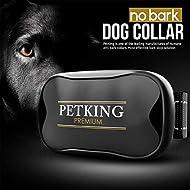 No Bark Dog Collar - Anti Bark Device for Small Medium Large Dogs   Stop Excessive Barking - No Shock or Spray Dog Bark Collar   Safe & Humane Anti-Bark Aids   Harmless Vibration Anti-Barking Collars