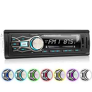 Xomax xm rsu256bt autoradio sans lecteur cd 7 led - Lecteur cd pour voiture avec port usb ...