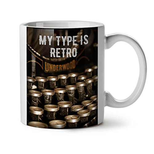 My Type is Retro Funny Ceramic Mug Gift