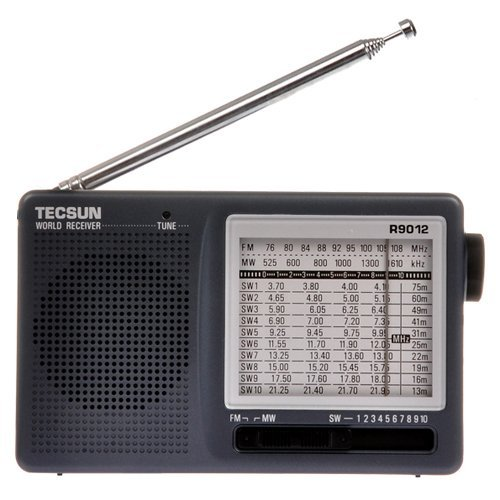 SW 12 Bands Shortwave Radio Receiver (TECSUN R-9012) ()