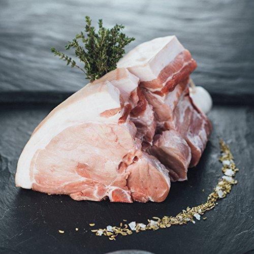 dry aged schwein Porterhouse Steak vom Schwein 7 Tage Dry Aged 2 stk. á 220g