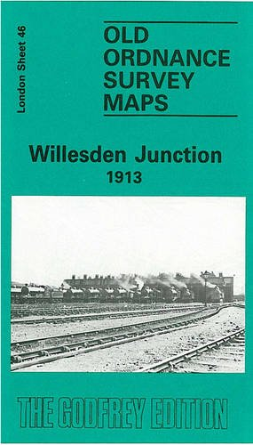 Willesden Junction 1913: London Sheet 046.3 (Old Ordnance Survey Maps of London)
