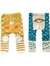 fygood pantalones Leggings Algodón Bebé Niño Niño Niña 0-4años
