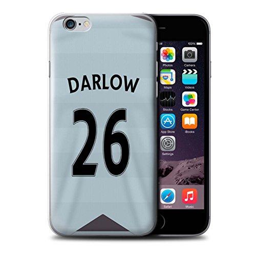 Offiziell Newcastle United FC Hülle / Case für Apple iPhone 6S / Lascelles Muster / NUFC Trikot Away 15/16 Kollektion Darlow