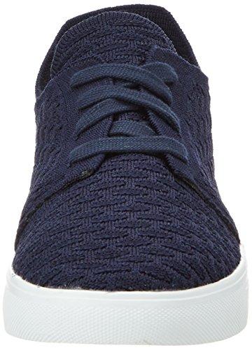 Esprit Lizette Lace Up, Sneakers Basses Femme Bleu (400 Navy)