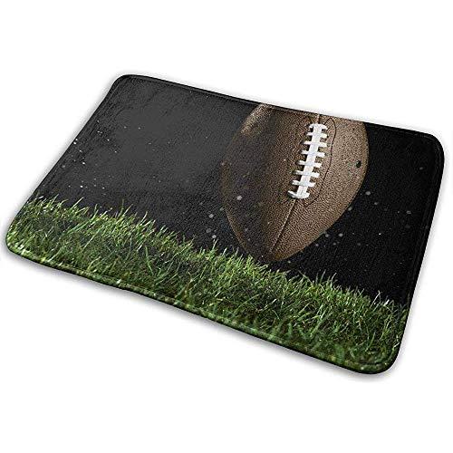 AllenPrint Felpudo,Rugby Grass Sport Ball Durable