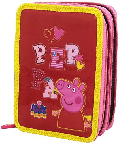 Peppa Pig – Plumier de Dos Pisos, 22 x 16 cm (Mercury 896220)