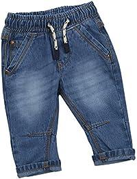 Baby Boys Denim Jeans Infant Toddlers Kids Denim Style Fashion Basic Jeans Pants