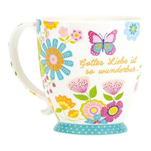 """°* Tasse """"Gottes Liebe ist so wunderbar Joh 3,16"""""""