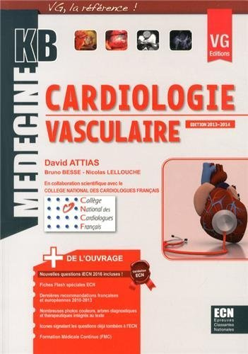 Cardiologie vasculaire de David Attias (1 septembre 2013) Broché