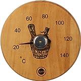 Opa schwarz Erle Sauna Thermometer–Finnisches Design -