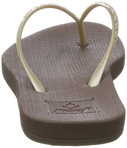 Reef Escape Lux Coffee, Tongs Femme Marron (Coffee)