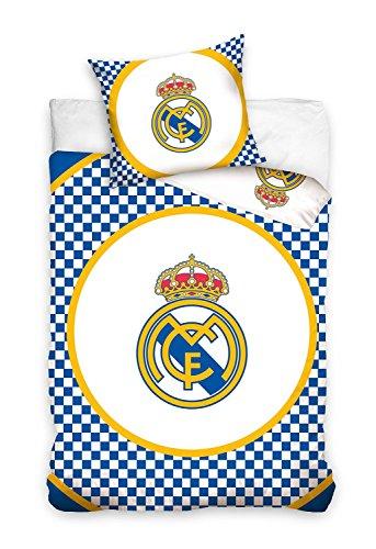 Real Madrid–Ropa de cama 160x 200Funda Edredón + Funda Real Madrid