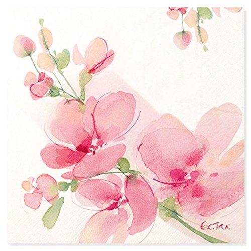 Chaks 07SK, Sachet 20 Serviettes Orchidées