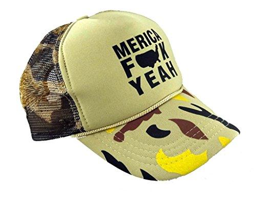 Funny Guy Mugs Meric FCK Yeah Trucker Hats - Unisex - verstellbar - - Einstellbar